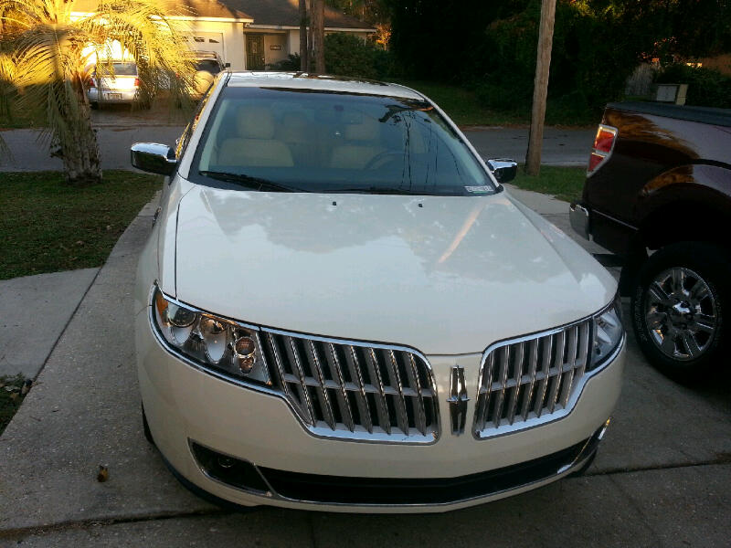 MKZ Front View