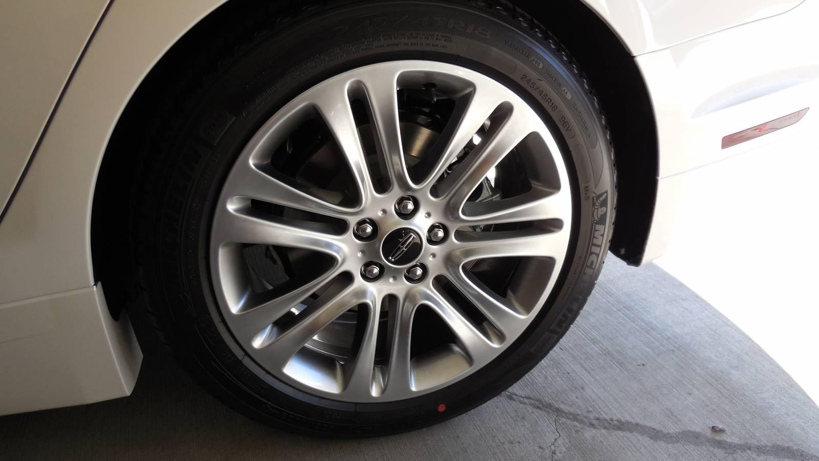 Rear Left Tire & Rim