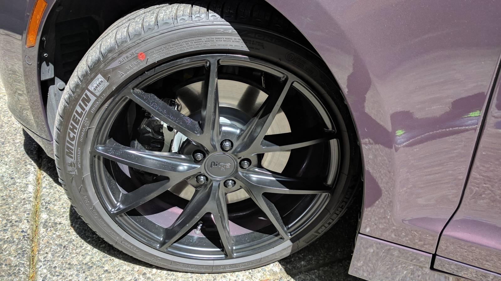 Wheel Closeup
