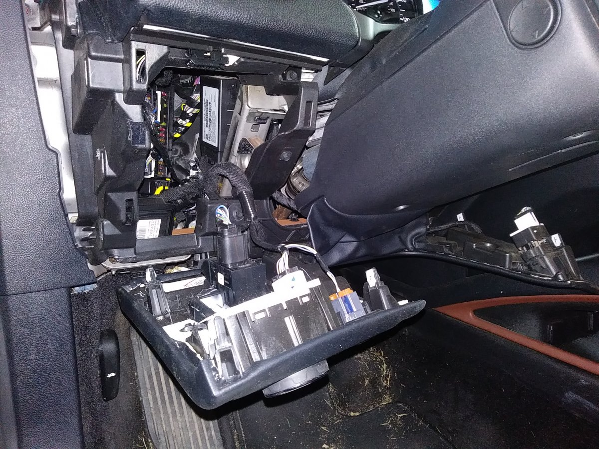 Getting to the interior fuse box on a 2017 - Interior - Lincoln MKZ Forum -  Lincoln Zephyr Forum