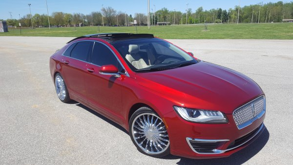 2017 Lincoln Mkz 2.0